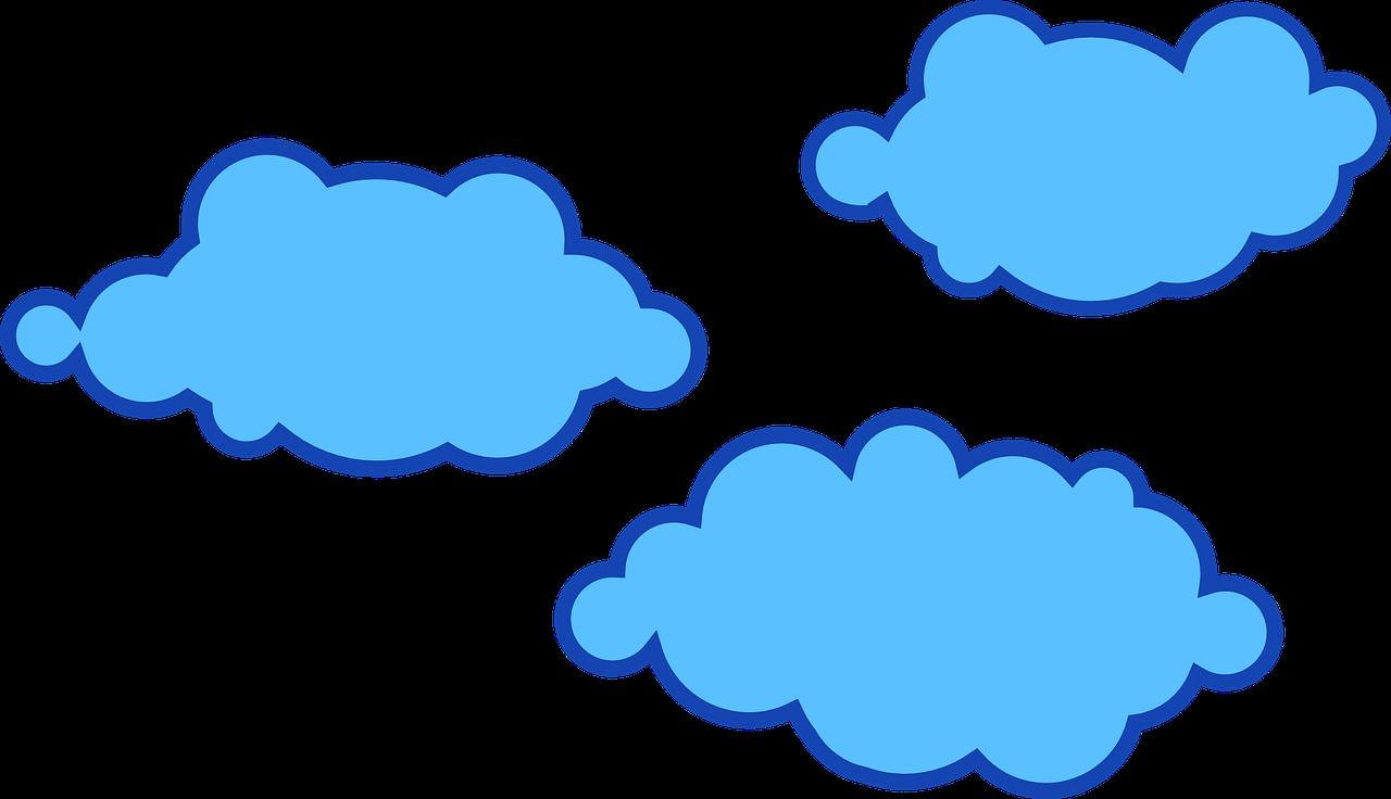 Картинки мультяшное облако