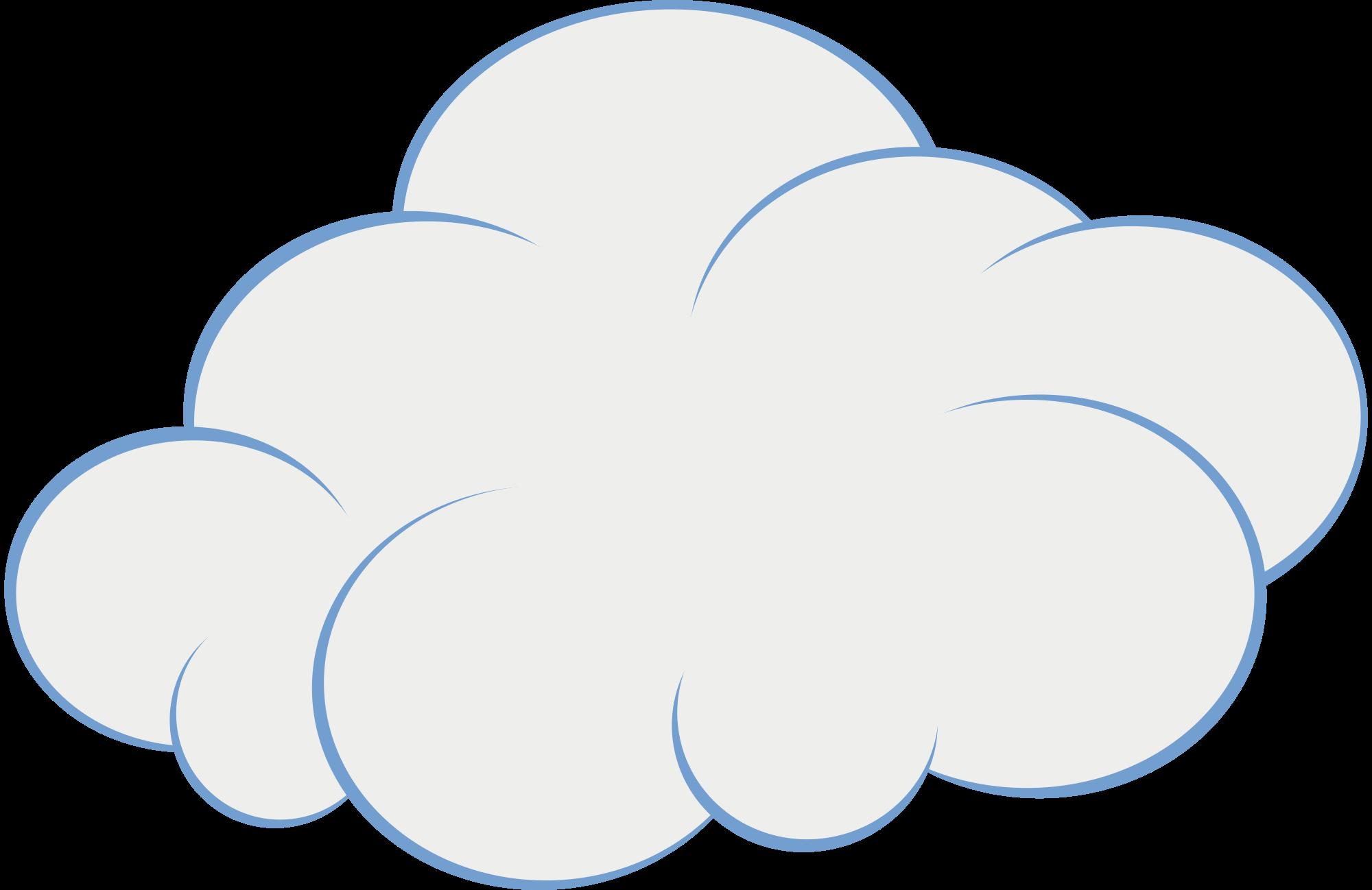картинка печальное облако