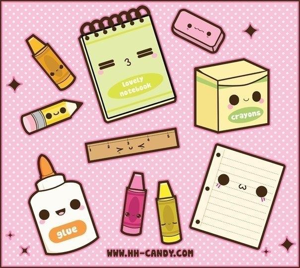 Картинки в личный дневник для срисовки   легкие и простые (12)
