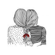 Картинки в стиле тумблер для срисовки девушки   подборка фото (1)