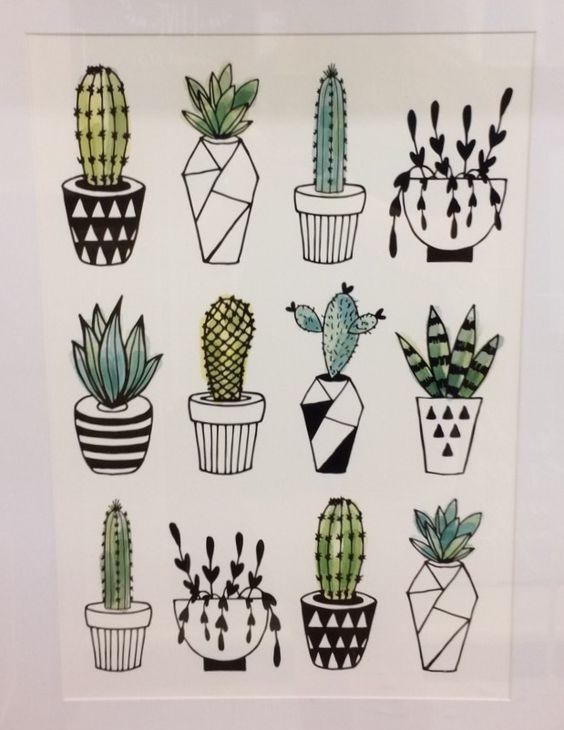 Картинки для срисовки в личный дневник   коллекция (24 штуки) (21)