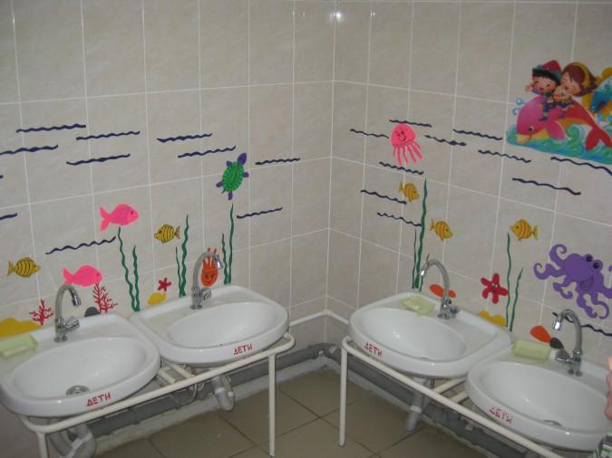 Картинки для туалета в детском саду оформление