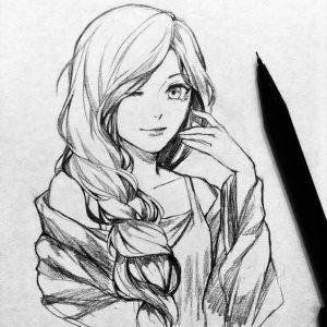 Картинки карандашом для срисовки красивые   интересные (17 картинок) (9)
