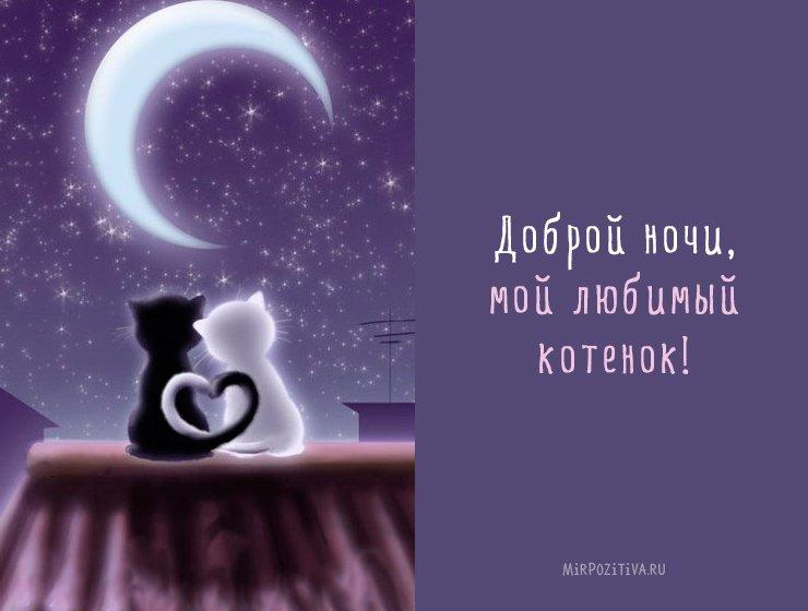 Картинки хорошего вечера и доброй ночи для любимых (4)