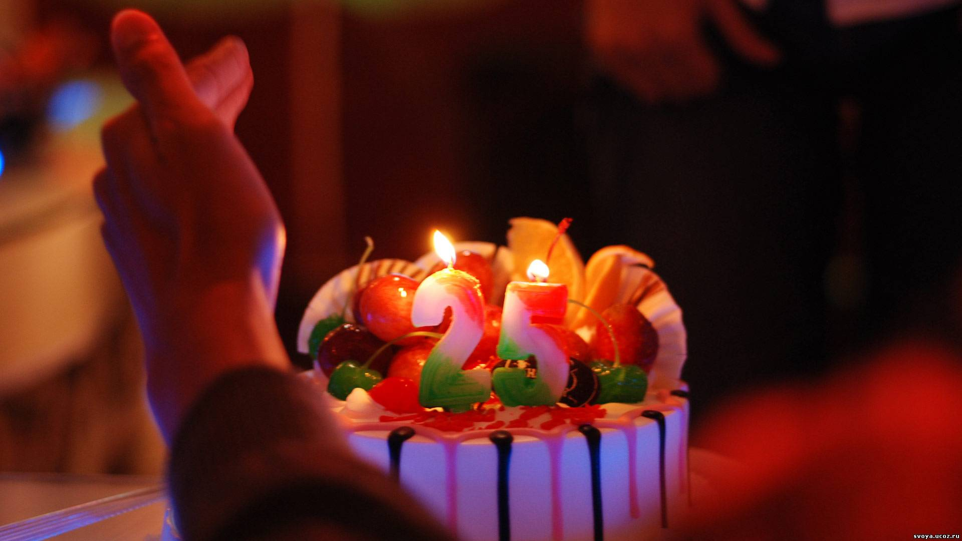 Красивые короткие поздравления с Днем рождения на 25)