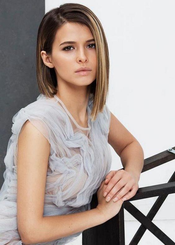 Короткие стрижки женские 2019 фото новинки   сборка (22 картинки) (10)