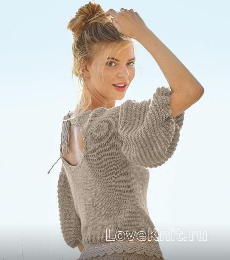 Кофта спицами для женщин   интересные (17 картинок) (17)