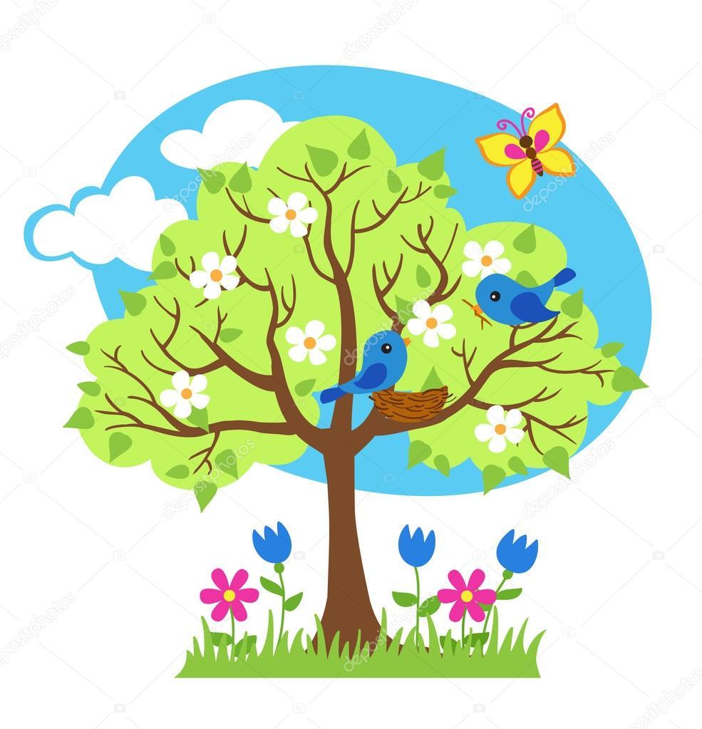 Красивые картинки для садика на тему Весна (14)