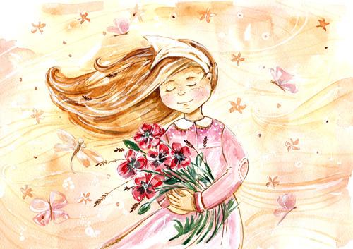 Красивые картинки для садика на тему Весна (15)