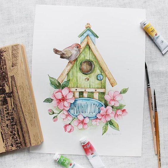 Красивые картинки для садика на тему Весна (2)