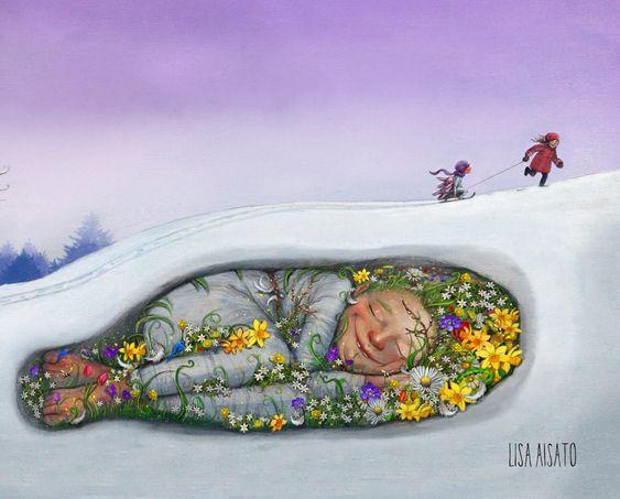 Красивые картинки для садика на тему Весна (3)