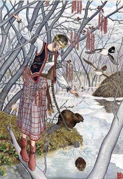 Красивые картинки для садика на тему Весна (4)