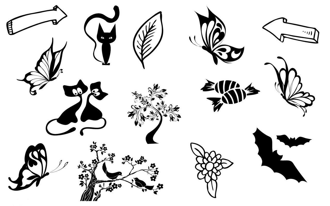 Красивые черно-белые рисунки для распечатки серьезный вид