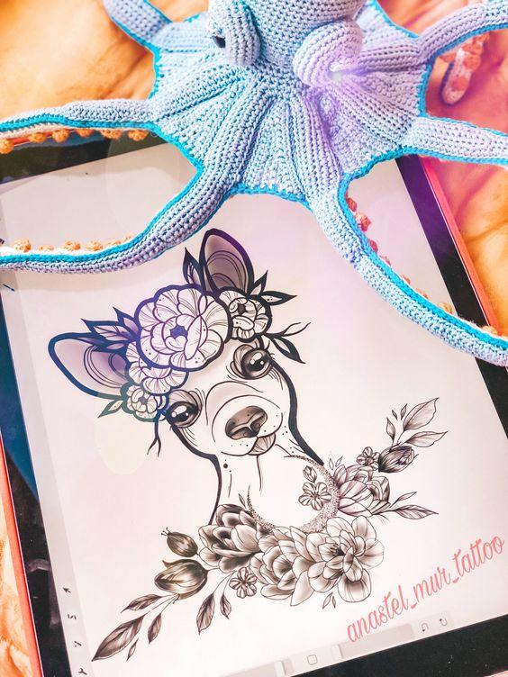 Красивые рисунки и изображения Оленя   подборка 25 картинок (20)