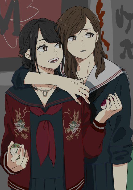 Красивые фото на аву для девушек с подругой (9)