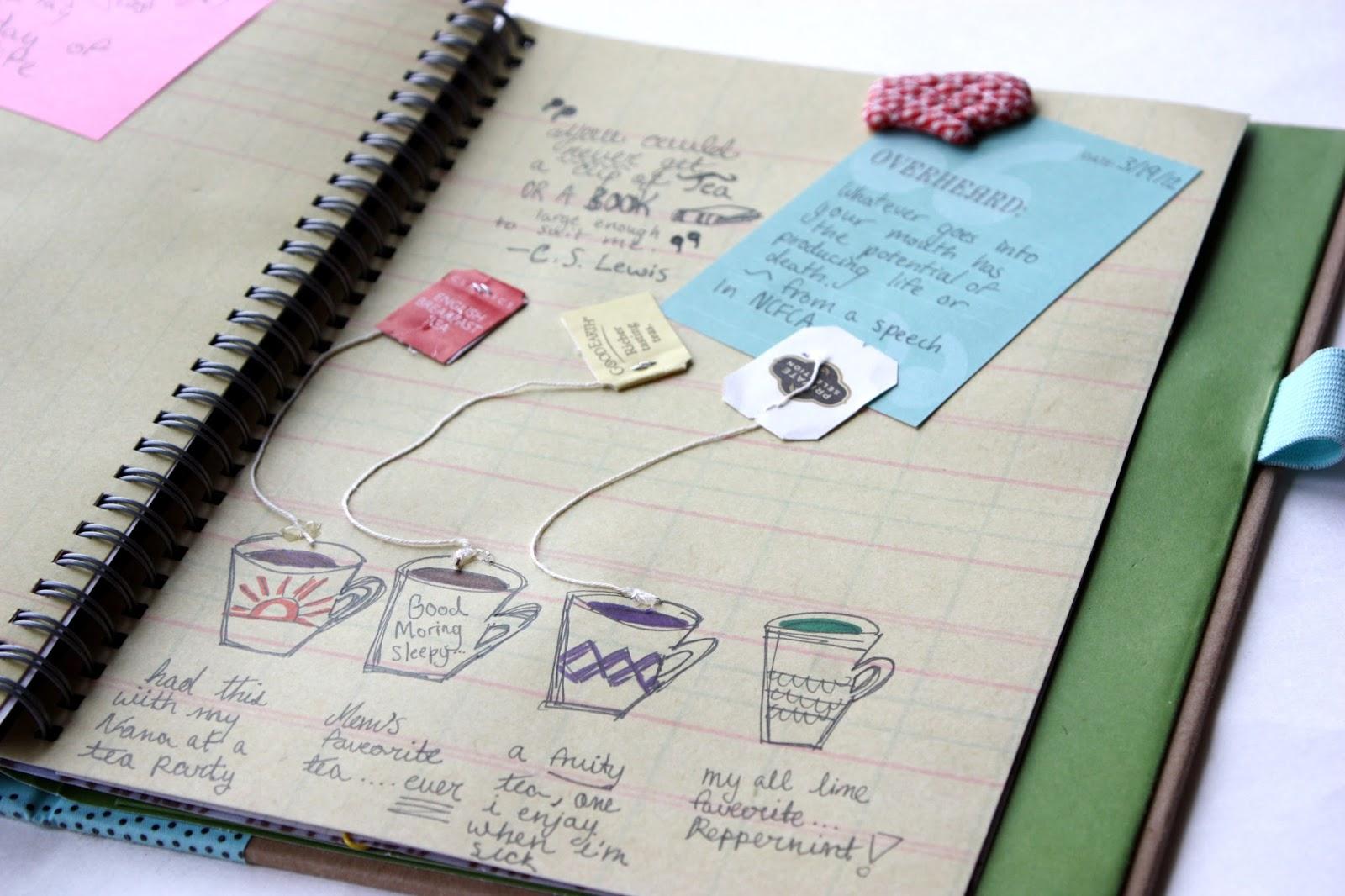 идеи для оформления личного дневника внутри картинки