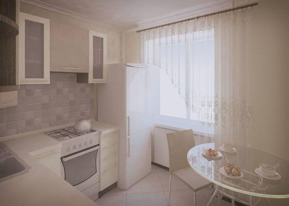 Маленькие кухни дизайн фото 6 кв м подборка (20 штук) (1)
