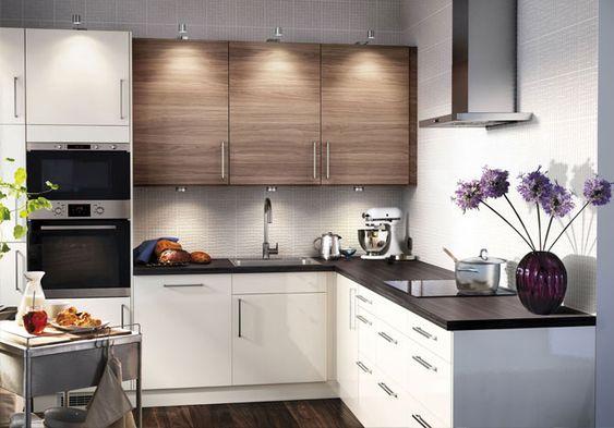 Маленькие кухни дизайн фото 6 кв м подборка (20 штук) (11)