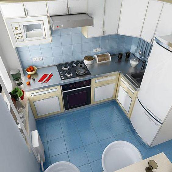 Маленькие кухни дизайн фото 6 кв м подборка (20 штук) (12)