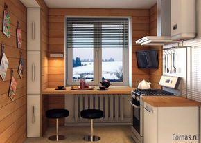 Маленькие кухни дизайн фото 6 кв м подборка (20 штук) (13)