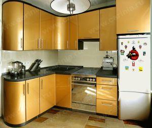 Маленькие кухни дизайн фото 6 кв м подборка (20 штук) (14)