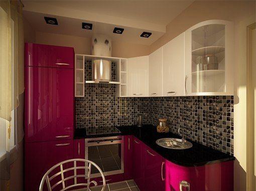 Маленькие кухни дизайн фото 6 кв м подборка (20 штук) (15)