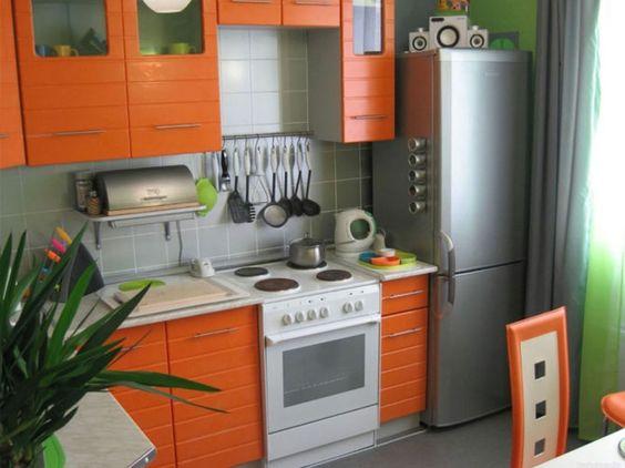 Маленькие кухни дизайн фото 6 кв м подборка (20 штук) (17)