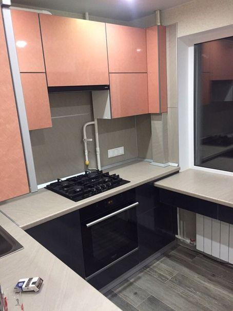 Маленькие кухни дизайн фото 6 кв м подборка (20 штук) (19)