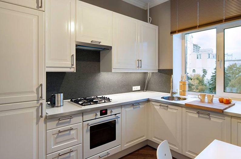 Маленькие кухни дизайн фото 6 кв м подборка (20 штук) (20)