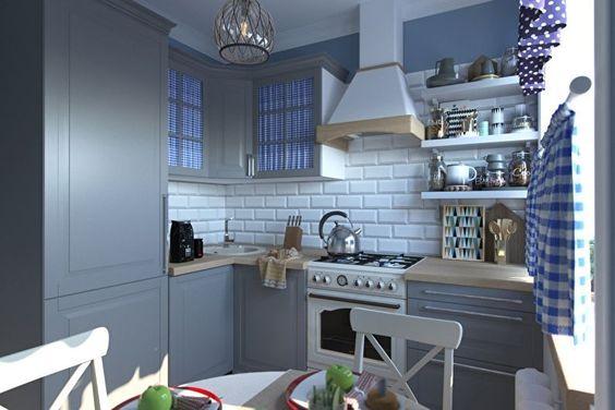 Маленькие кухни дизайн фото 6 кв м подборка (20 штук) (4)