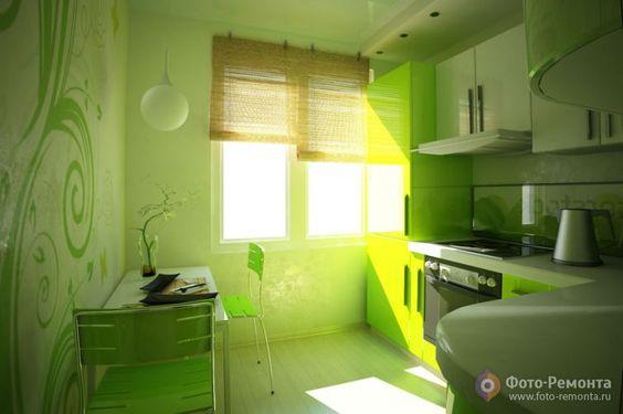Маленькие кухни дизайн фото 6 кв м подборка (20 штук) (5)