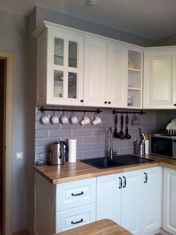 Маленькие кухни дизайн фото 6 кв м подборка (20 штук) (6)