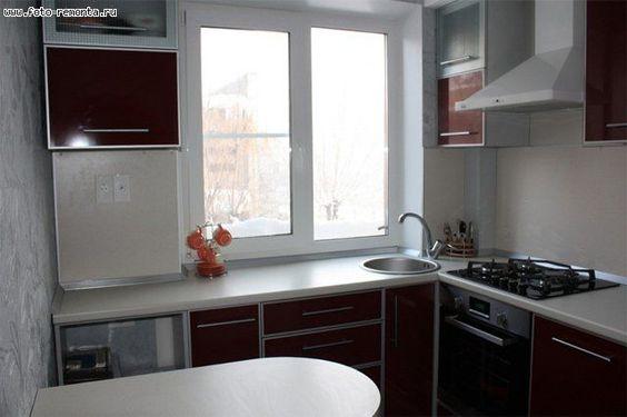 Маленькие кухни дизайн фото 6 кв м подборка (20 штук) (7)