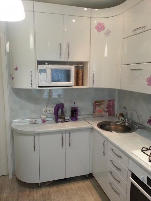 Маленькие кухни дизайн фото 6 кв м подборка (20 штук) (8)