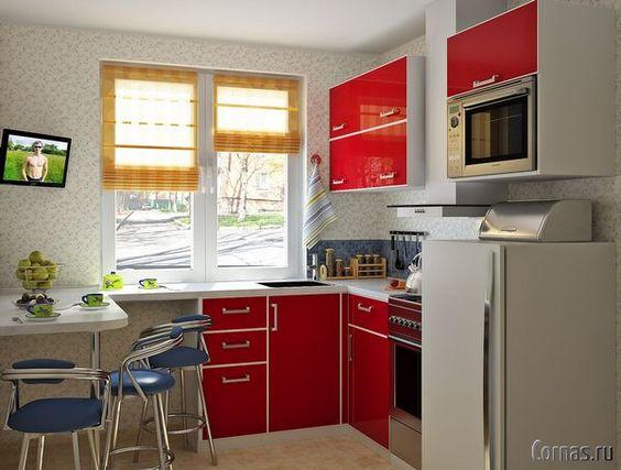 Маленькие кухни дизайн фото 6 кв м подборка (20 штук) (9)