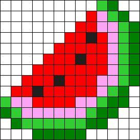Малюнки по клітинках подборка (25 картинок) (5)