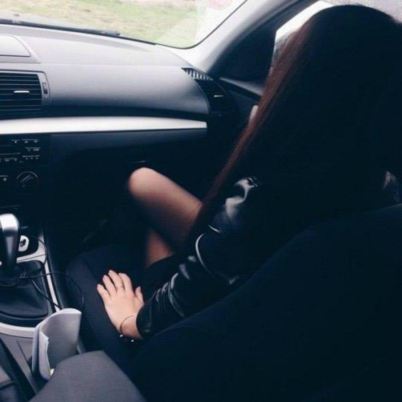 Машина и девушка без лица на аву скачать картинки (12)