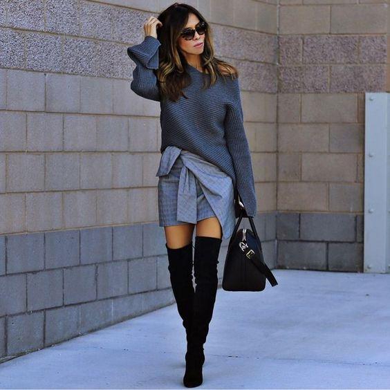 Модные сапоги осень зима 2019 2020 фото   коллекция (22 картинки) (10)