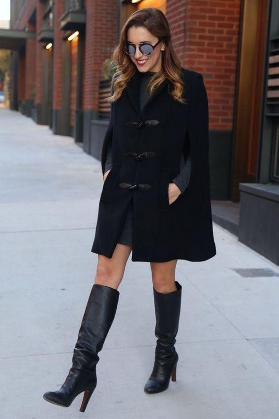 Модные сапоги осень зима 2019 2020 фото   коллекция (22 картинки) (13)