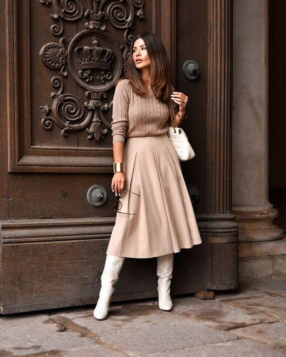 Модные сапоги осень зима 2019 2020 фото   коллекция (22 картинки) (14)