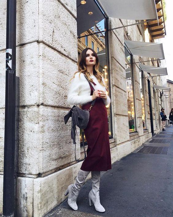 Модные сапоги осень зима 2019 2020 фото   коллекция (22 картинки) (16)