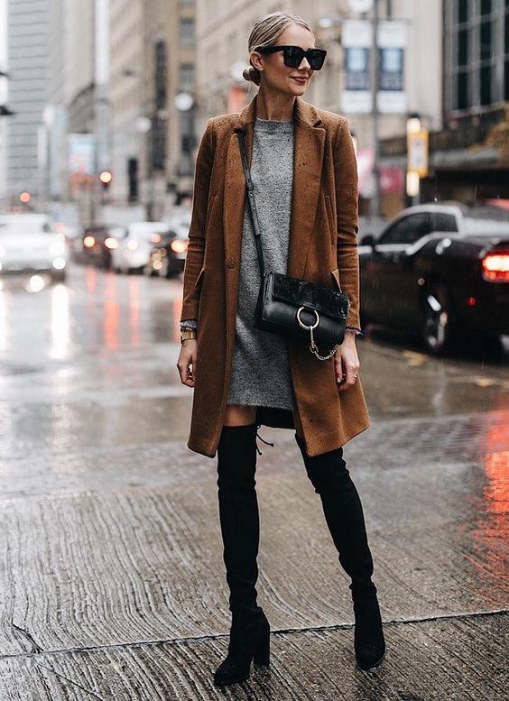 Модные сапоги осень зима 2019 2020 фото   коллекция (22 картинки) (22)