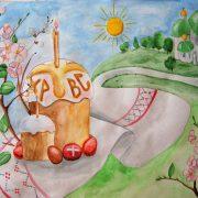 Народный праздник Пасха   картинки и рисунки для детей (19)