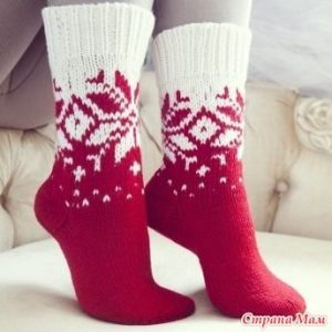 Носки красивые спицами   милые картинки (22 картинки) (18)