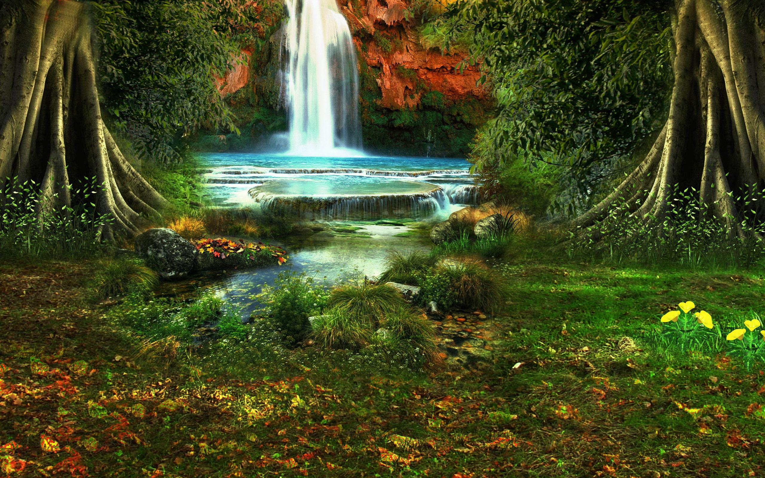 Картинки для презентации на задний фон водопады