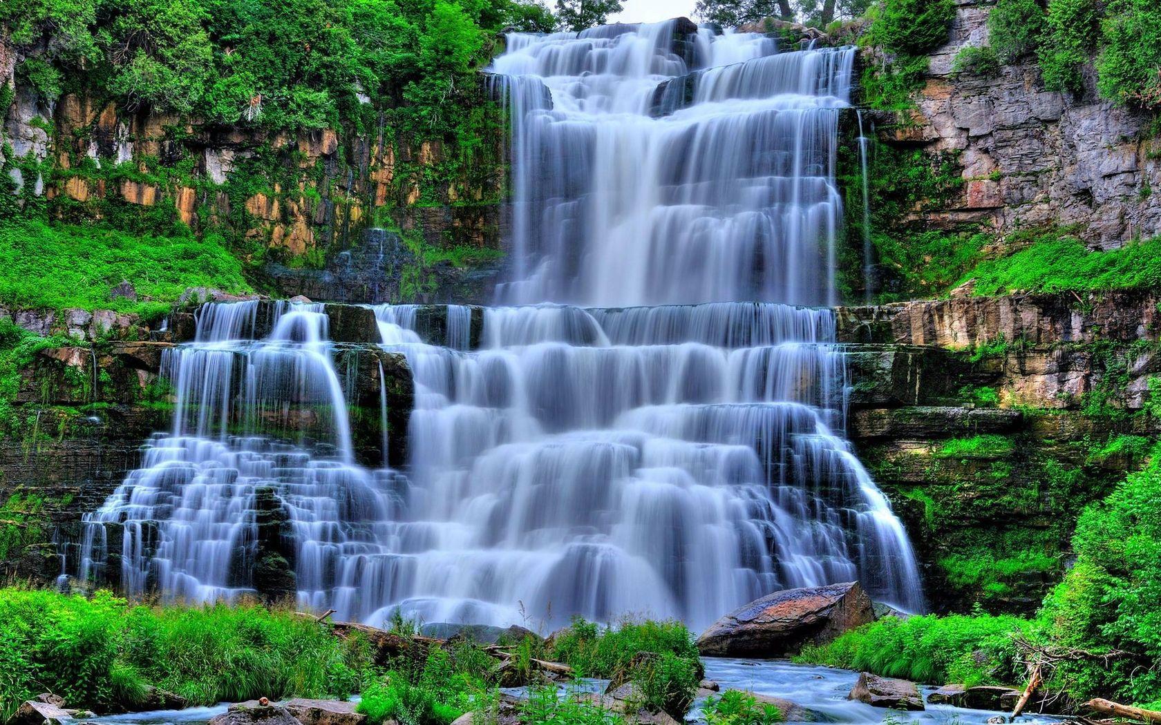 Обои водопады на рабочий стол скачать бесплатно   подборка картинок (4)