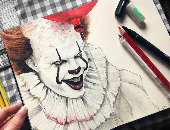 Оно рисунок   страшно (22 картинки) (14)
