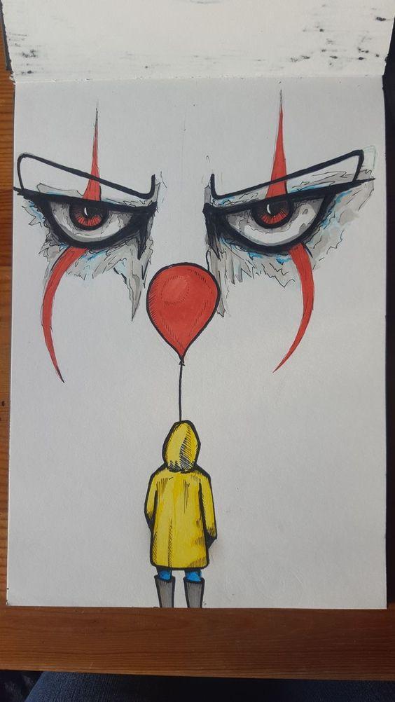 Оно рисунок   страшно (22 картинки) (8)