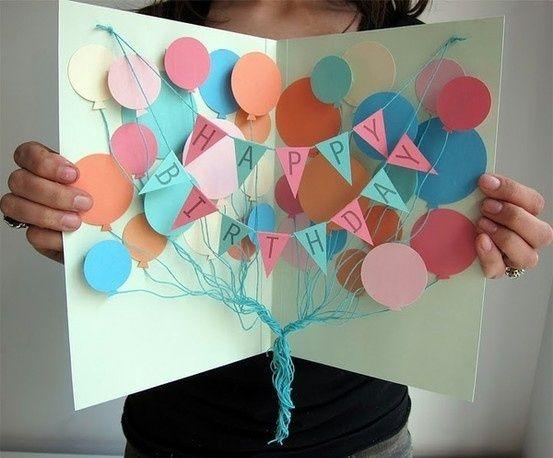 Открытка на день рождения своими руками бабушке   для любимой (19 картинок) (17)