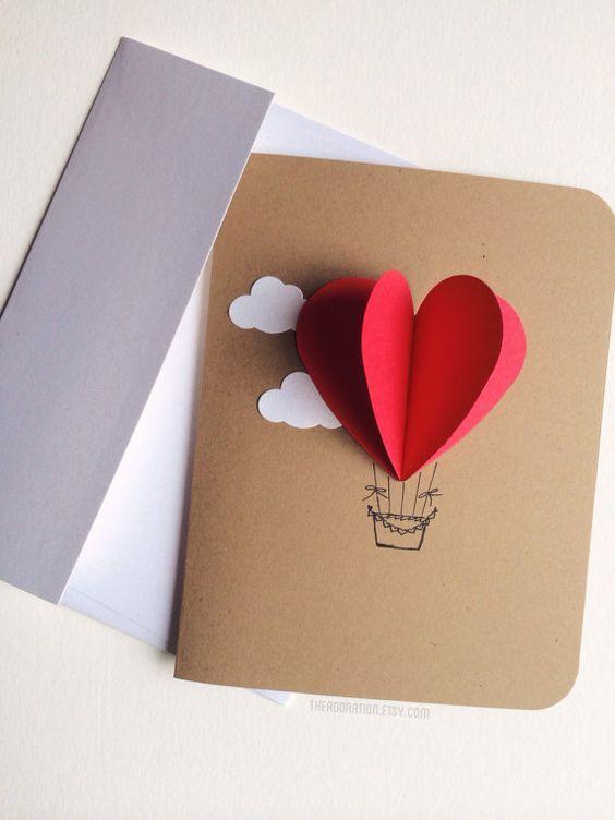 Поздравления день, небольшая открытка своими руками